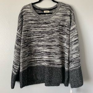 Style & Co Gray Sweater